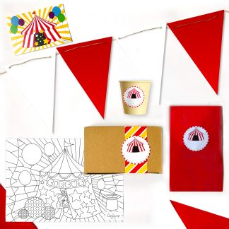 The Conscious Party Box: Circus Mini Party Box