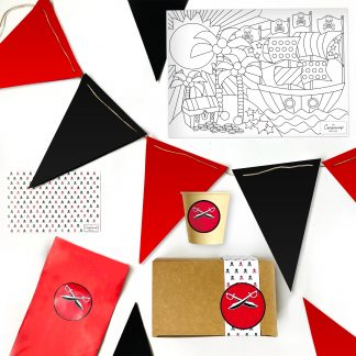 The Conscious Party Box: Pirate Mini Party Box