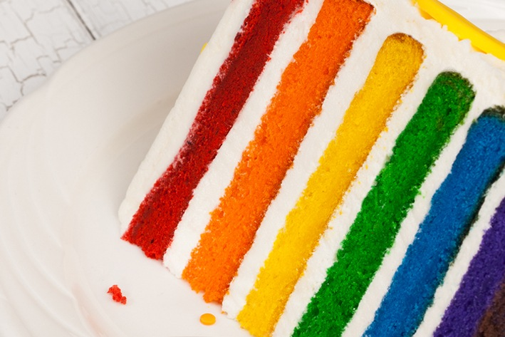 The Conscious Party Box: Rainbow Cake