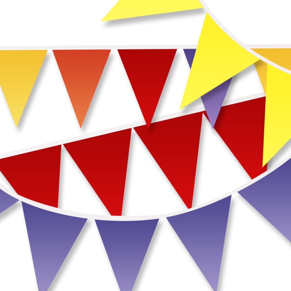 The Conscious Party Box: Felt Bunting