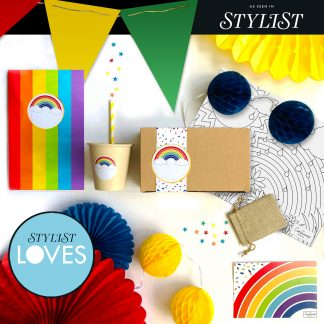 The Conscious Party Box: Stylist Loves Rainbow Party Box