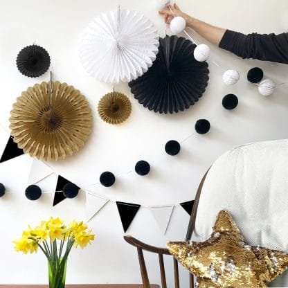 The Conscious Party Box gold black white small decoration box