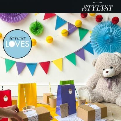 The Conscious Party Box: Rainbow Party Box. As Seen In Stylist