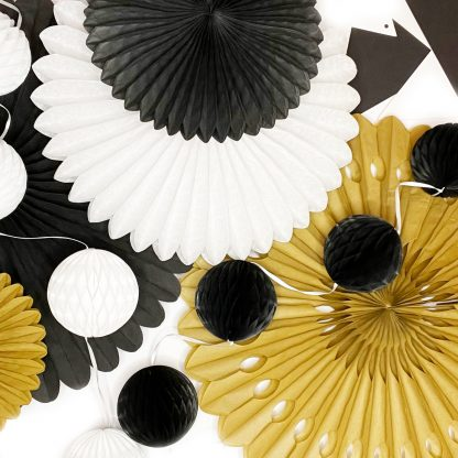 The Conscious Party Box: Small Decoration kit Gold Black White