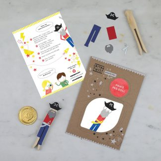Party Bag Filler: Make Your Own Pirate Peg Doll