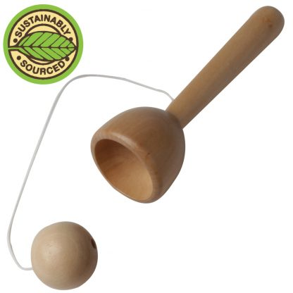 Party Bag Filler: Wooden Cup and Ball
