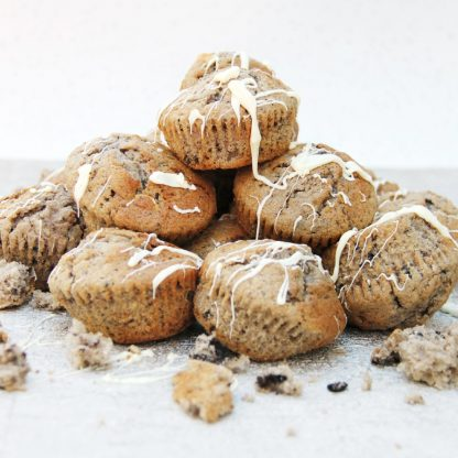 The Bottled Baking Company: Marvellous Cookies & Creme Muffins In a Bottle